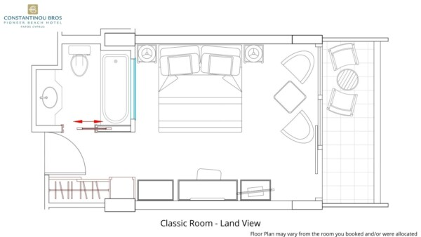 1 Classic Room - Land View