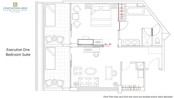 11 Executive One Bedroom Suite