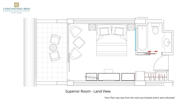 4Superior Room - Land View