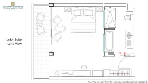 7 Junior Suite - Land View