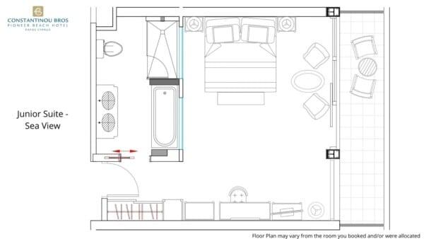 8 Junior Suite - Sea View